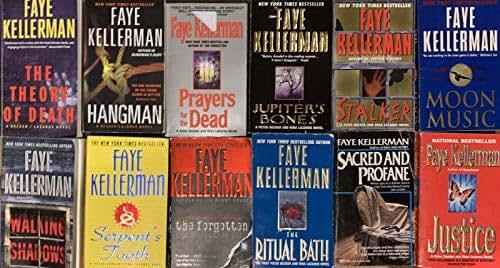 Faye Kellerman Thriller Novel Collection 12 Book Set
