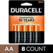 Duracell Coppertop AA Batteries, Alkaline, 8 Pack