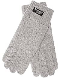 ladies knitted glove JETTE with Thinsulate thermal lining made of 100% wool