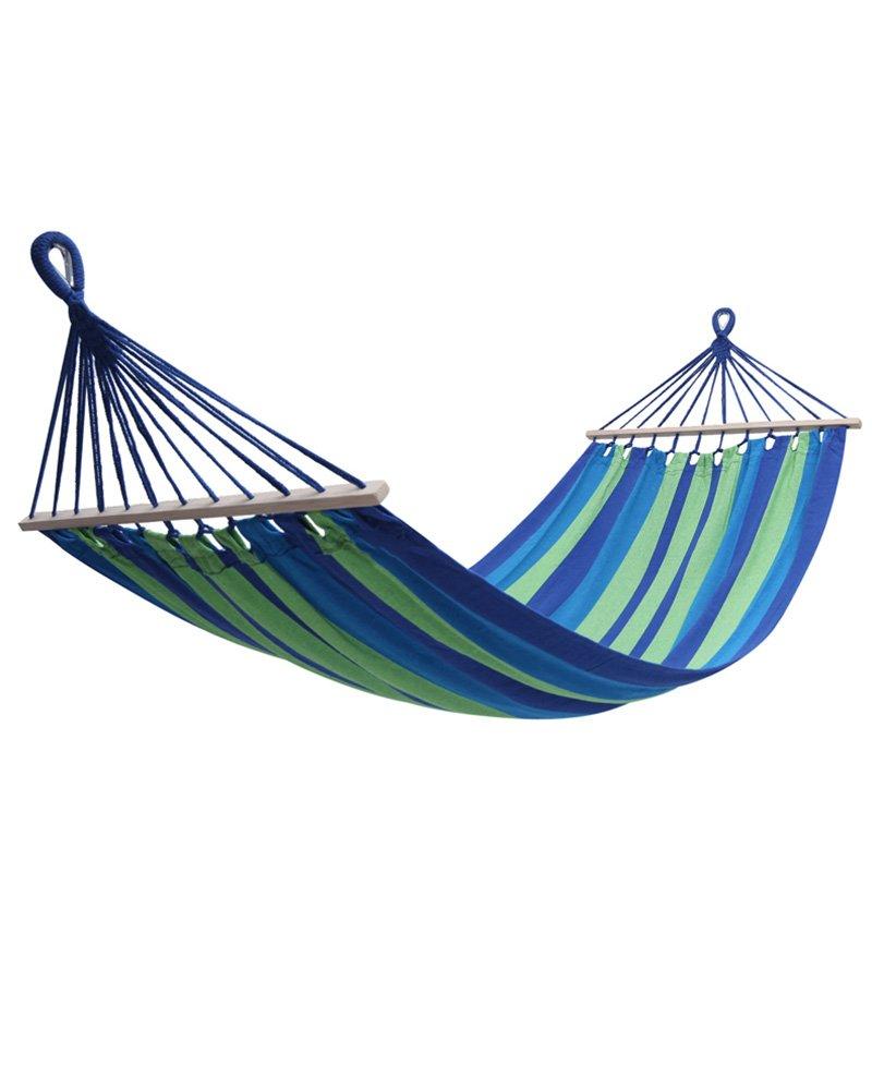 FEIFEI Hängematte Indoor Outdoor Schlafsaal Home Adult Erwachsene Schlafen Kinder Swing Schlafzimmer Leinwand Student Outdoor Hängematte Beach Camping Erholung Camping Hängematte ( Farbe : 4 )