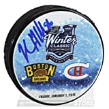 Kevan Miller Boston Bruins Signed Autographed 2016 Winter Classic Hockey Puck