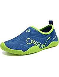 Kids Water Shoes Quick-Dry Boys and Girls Slip-on Aqua...