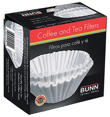 12/Pack Bunn-O-Matic Corp Bcf100 Bunn Coffee Filter