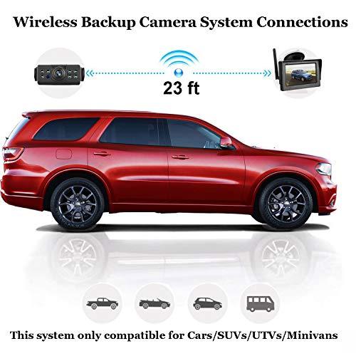 iStrong Backup Camera and Monitor Kit for Car/SUV/Minivan