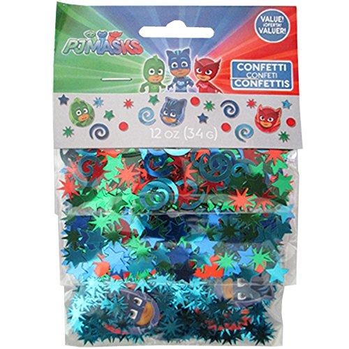 PJ Masks Confetti Value Pack (3 types) ()