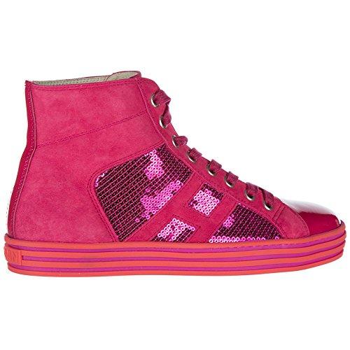 Fuxia Zapatos Deporte Zapatillas de Rebel Hogan Mujer largas r141 qwT17xpO