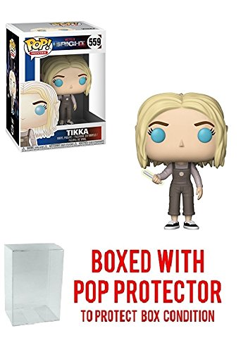 - Funko Pop! Movies: Netflix Bright - Tikka with Wand Vinyl Figure (Bundled with Pop Box Protector Case)