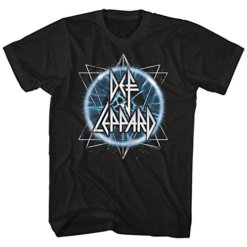 (Def Leppard 80s Heavy Metal Band Rock and Roll Electric Eye Adult T-Shirt Tee)