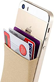 Sinjimoru Card Holder, Stick-on Wallet Functioning as iPhone Wallet Case, iPhone case with a Card Holder, Cred