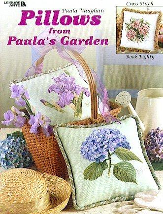 Leisure Arts Pillows From Paula's Garden LA-3493