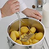 Hot Sell Lowest Stainless Potato Egg Masher Mould Vegetable Fruit Crusher Kitchen Tool Silver Color