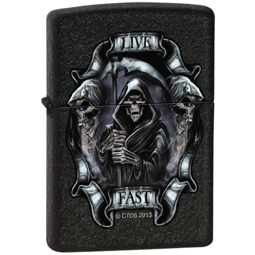 Zippo Lighter Custom Art - 5