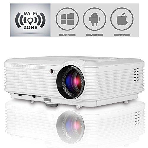 CAIWEI Projector Widescreen Multimedia Smartphone