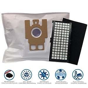 20Bolsas de aspiradora + 1Hepa y 1filtro de motor adecuado para Miele S 2120, s2120ventaja en pack de MicroSafe®