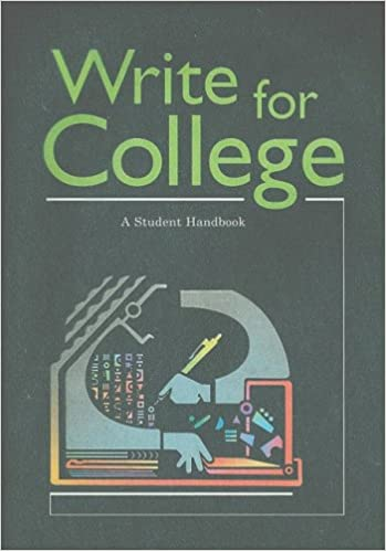com write for college a student handbook  write for college a student handbook 2nd edition