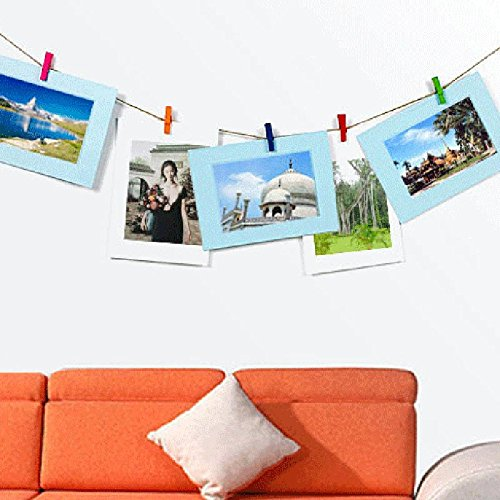Photo Frame,Baomabao 6 Inch DIY Wall Hanging Paper Wall Picture Album
