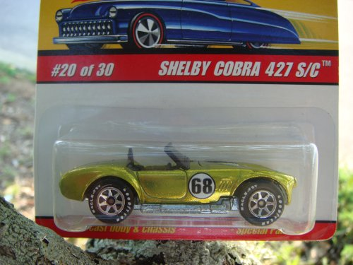 - Hot Wheels Classics Series 2 Shelby Cobra 427, S/C, Antifreeze, open hood, #20 1/64, 2005