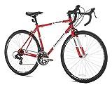 Giordano Libero Acciao Road Bike, 51 cm Frame, Red