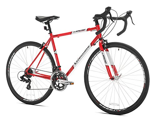 Giordano Libero Acciao Road Bike, 700c, Red, Small