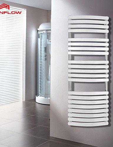 0.5 Radiador-calentador de toallas, Modern latón, Antiguo pared montaje: Amazon.es: Hogar