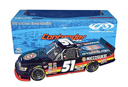 AUTOGRAPHED 2008 Kyle Busch #51 Miccosukee/NOS Energy Racing (Tribe of Indians of Florida) CFS Contender Series Extremely Rare Truck Series Signed 1/24 NASCAR Collectible Diecast with COA (Series Nascar Truck)