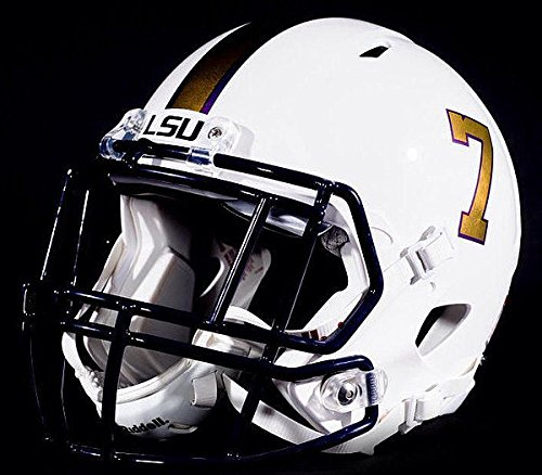 Schutt LSU Tigers Full XP Replica Football Helmet Gridiron Gold - NCAA Licensed Gift