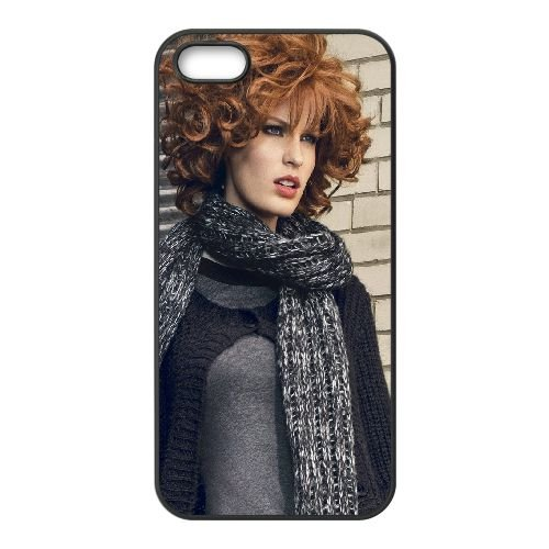 Hair Model Style Clothing coque iPhone 4 4S cellulaire cas coque de téléphone cas téléphone cellulaire noir couvercle EEEXLKNBC25552