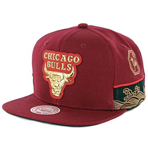 Mitchell & Ness Men's NBA Chicago Bulls Chinese New Year Snapback (New Year Caps)