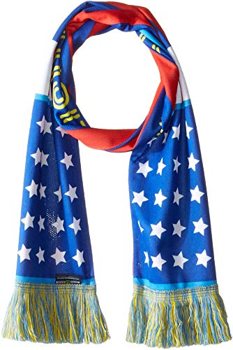 Las Vegas Lights F.C. Unisex Las Vegas Lights FC Stars and Stripes Scarf Red/White/Blue One Size