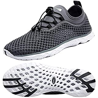 Zhuanglin Men's Lightweight Aqua Water Shoes Beach Sneakers