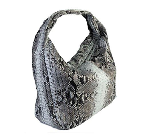 Genuine Long Python Hobo Natural Bag Leather 1rFWnr