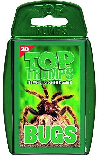 Top Trumps Bugs Card Game