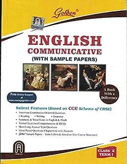 amazon in buy golden english communicative guide for class 10 term rh amazon in english golden guide for class 10 cbse download pdf golden english guide for class 10 cbse free download