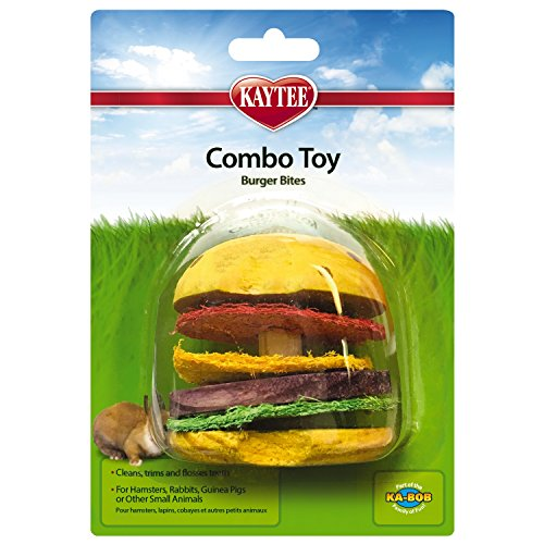 Super Pet Hamburger Small Animal Toy, Wood and ()