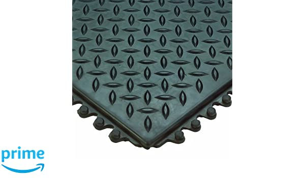 4/' x 6/'  Approx..9//16/'/' Thick  Diamond Surface Industrial Anti Fatigue Matting .