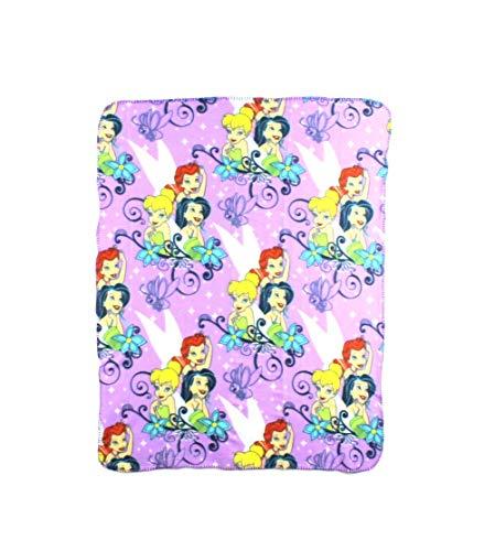 The Northwest Company Disney Tinkerbell Autumn Fairy Character Fleece Throw Blanket, 40 x ()