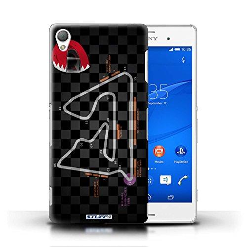 Kobalt® Imprimé Etui / Coque pour Sony Xperia Z3 / Bahreïn/Sakhir conception / Série 2014 F1 Piste