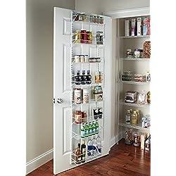 Gracelove Over The Door Spice Rack Wall Mount Pantry Kitchen 8-Tier Cabinet Organizer