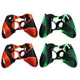 xbox 360 controllers cool colors - Buorsa Skins for Xbox 360 Controller Silicone Cover Case Anti-slip Protector Camo