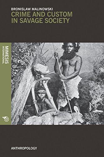 Crime And Custom In Savage Society (Anthropology) por Bronislaw Malinowski