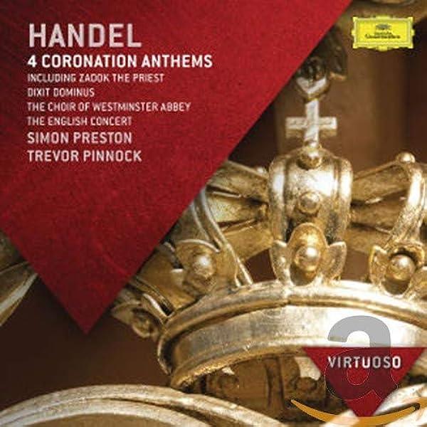 Händel: 4 Himnos De Coronación: Simon Preston: Amazon.es: Música