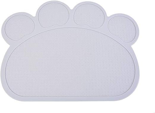 Roblue - Juego de Mesa para Perros y Gatos con Forma de Nube de Silicona Antideslizante, 400 x 300 x 3 mm: Amazon.es: Hogar