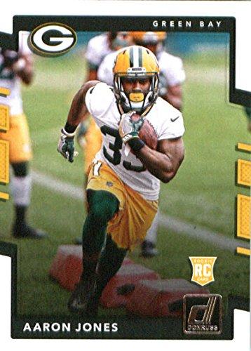 2017 Donruss #385 Aaron Jones Green Bay Packers Rookie Football Card