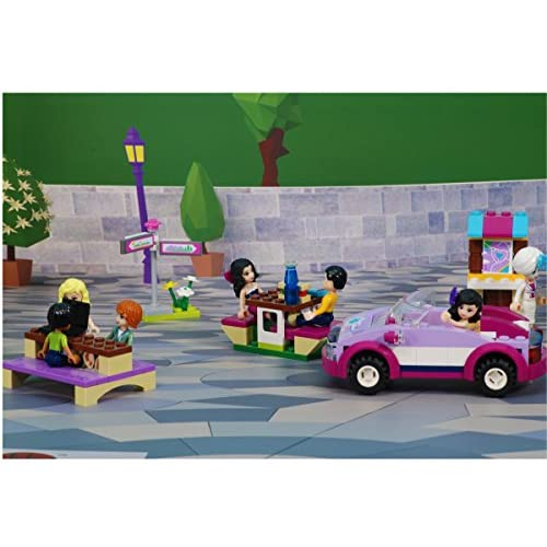 Low Cost Double Foldable Background Scenery For Toys Like Lego