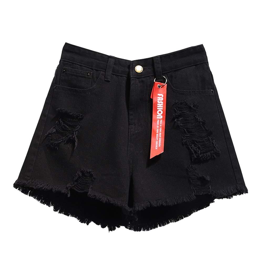 79df54d67 ONEFIT Women's Denim Shorts Loose Wide Leg Hot Pants Thin Girls Super Jeans  at Amazon Women's Clothing store:
