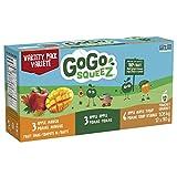 GoGo squeeZ Fruit Sauce, Apple Maple Mango, 12x90g, Apple Maple Mango, 1080 Grams