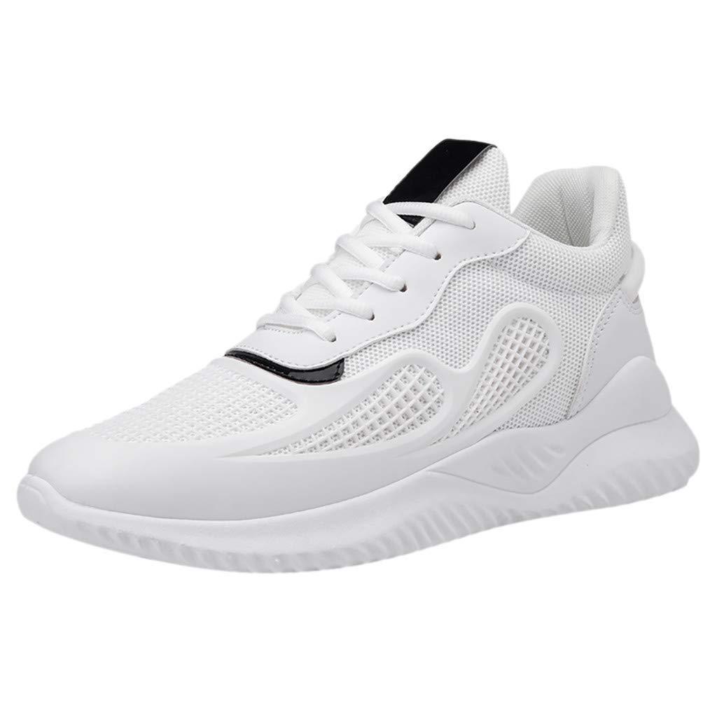 CUTUDE Herren Laufschuhe Fitness Verschleißfeste Straßenlaufschuhe Sneaker Sportschuhe Atmungsaktiv rutschfeste Mode Freizeitschuhe Persönlichkeit Schuhe