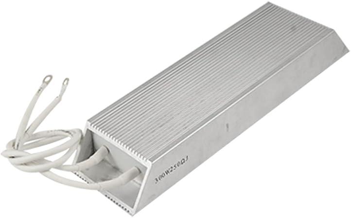 Sourcingmap 300W 250 ohms de r/ésistance de freinage Aluminium Trap/èze
