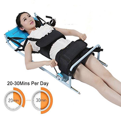 Vinmax Cervical Spine Lumbar Traction Bed Therapy Massage Body Stretching Device Back