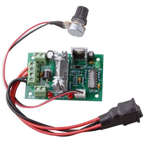 Riorand Upgraded Adjustable Dc Motor Speed Pwm Controller
